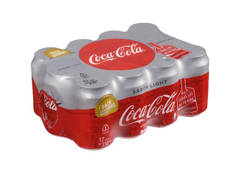 -50% en el SEGUNDO PACK de COCA COLA LIGHT LIDL