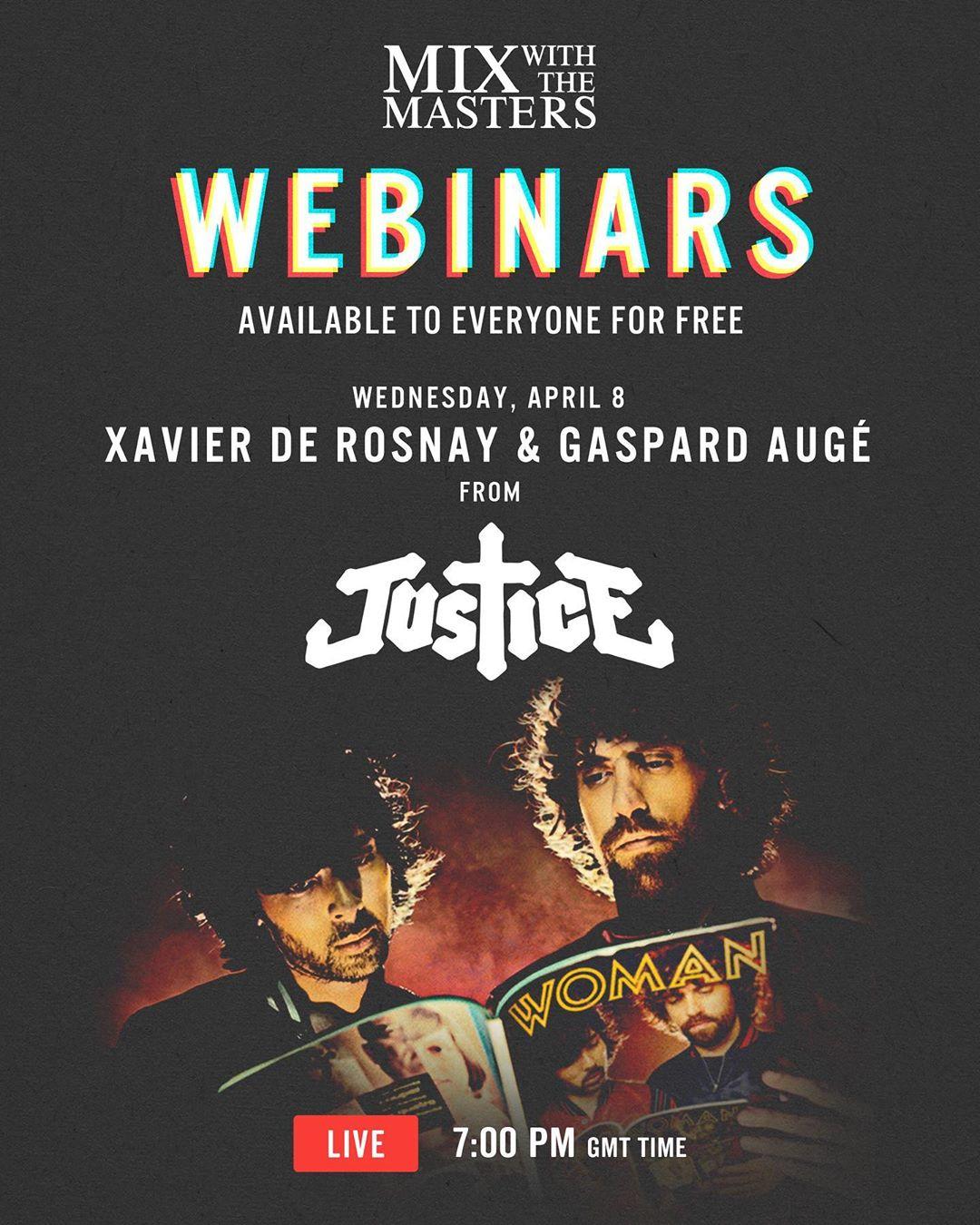 Webinar de Justice (fr) gratis el miércoles 8 a las 21hs
