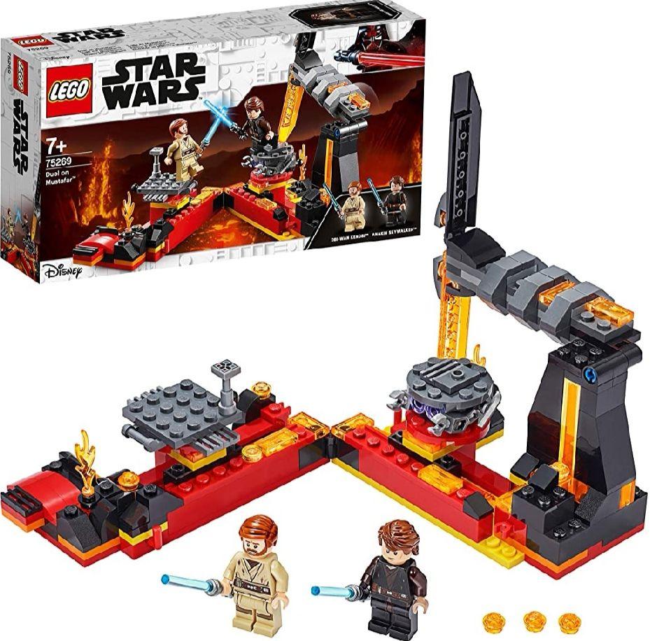 LEGO Star Wars - Duelo en Mustafar, Set de Construcción (Precio al tramitar)