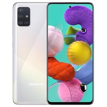 Samsung Galaxy A51 A515 6 GB / 128 GB doble sim - Prisma Crush Blanca