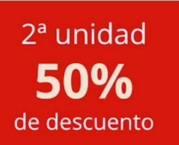 NIVEA Con el 50% de descuento en la segunda unidad y más productos.(envío gratis)