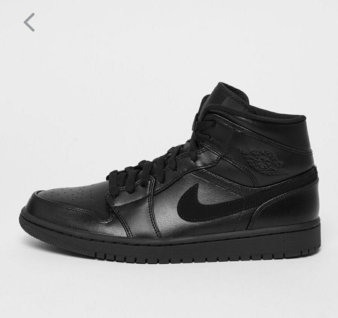 Jordan Air 1 mid Black (varias tallas)
