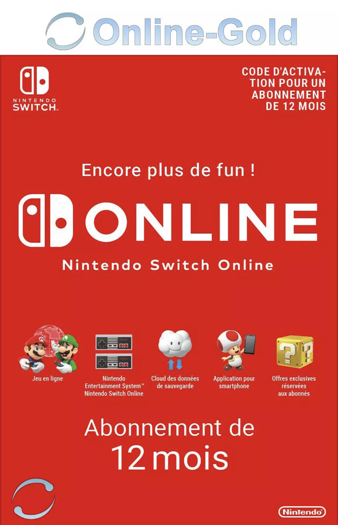 Suscripción online INDIVIDUAL Nintendo Switch