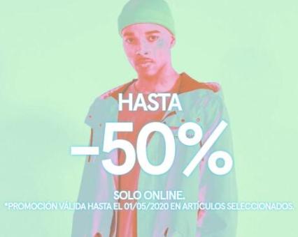50% Descuento en Bershka - Art. Seleccionados