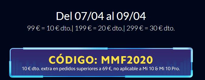 10 € DESCUENTO EN COMPRAS SUPERIORES A 69 €