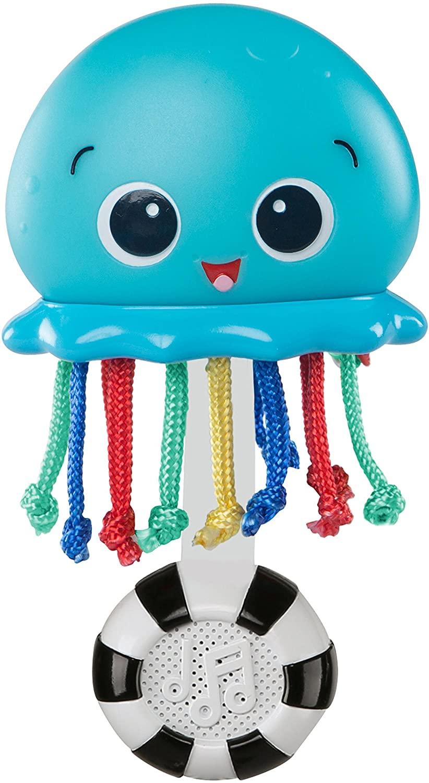 Baby Einstein 10800 Ocean Glow Sensory Coctelera juguete, Azul