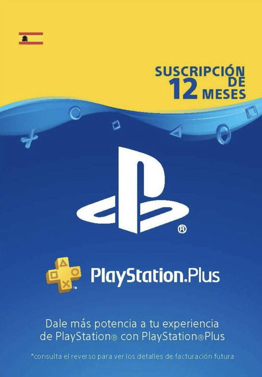 PlayStation Plus Card 365 Days (ES) PSN Key SPAIN