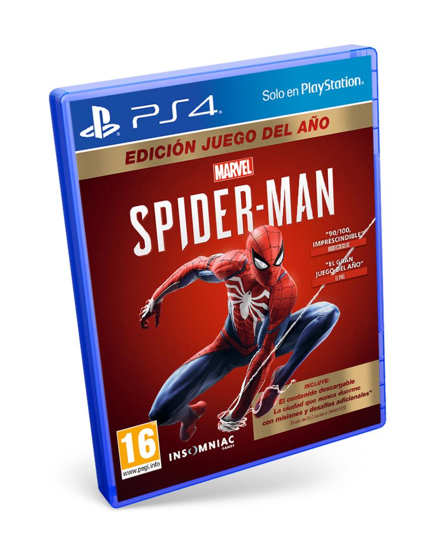 Spiderman edición goty (todos los dlcs)