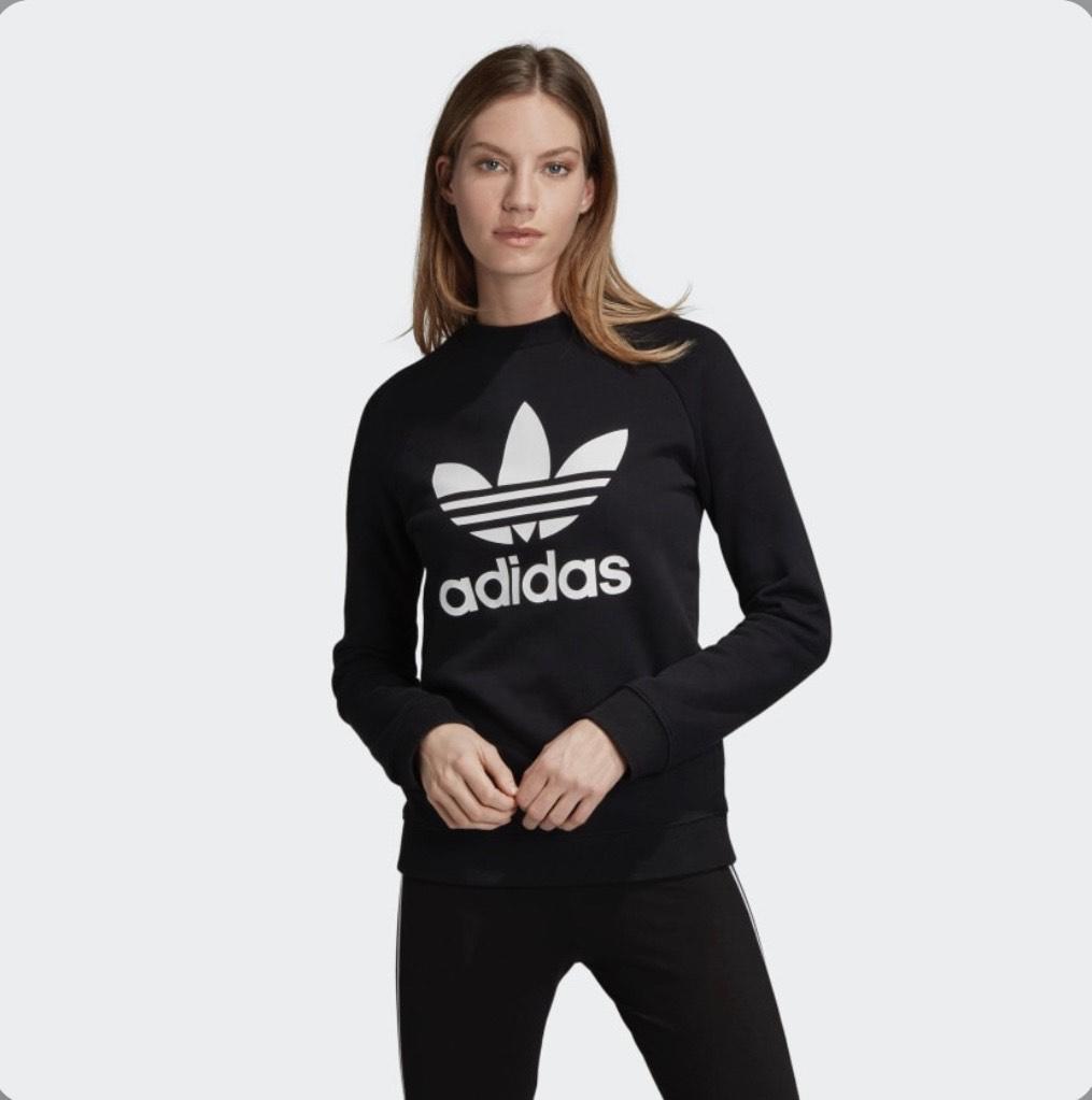 Sudadera Adidas Mujer Negra