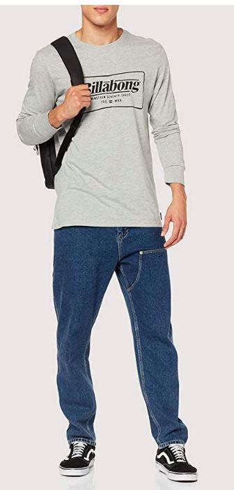 BILLABONG TRD Mrk LS tee Camiseta para Hombre