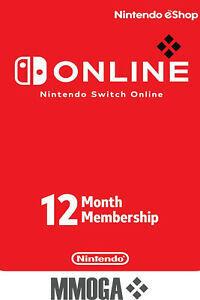 Suscripción 1 año nintendo switch Online