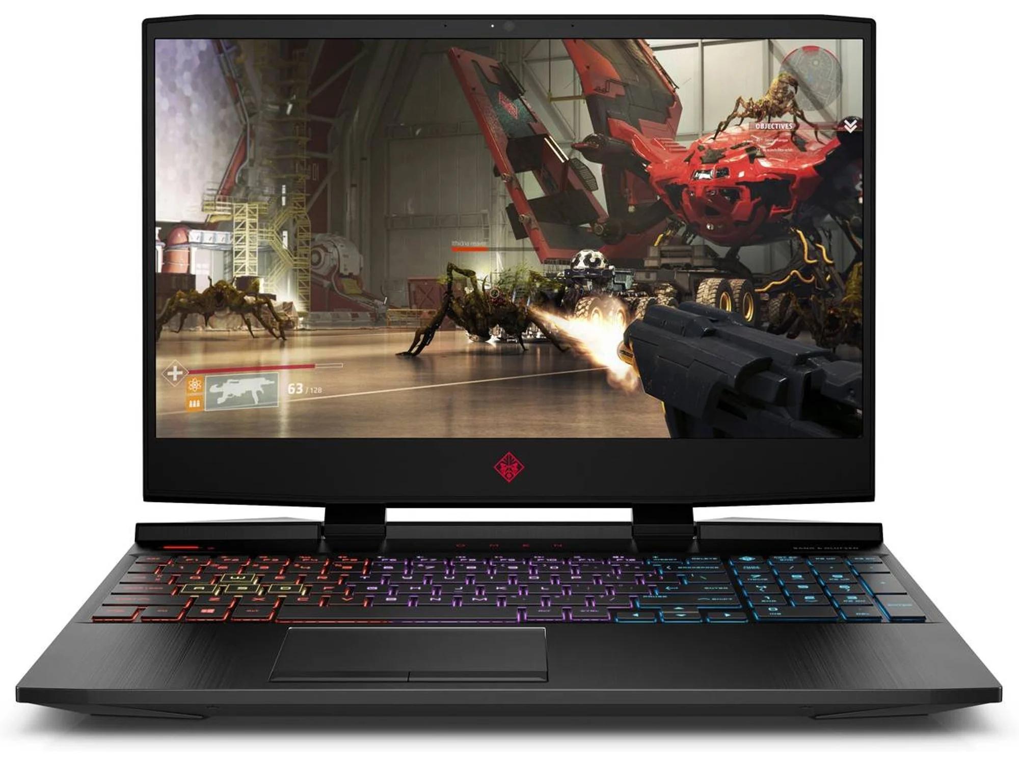 Portátil Gaming HP OMEN 15-DC1039NS (Intel Core i7-9750H - NVIDIA GeForce GTX 1650 - RAM: 8 GB - 1 TB SSD - 15.6'')