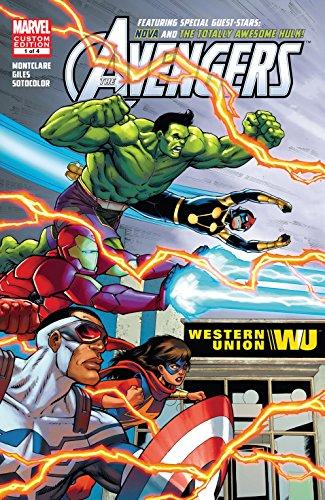 Avengers Ft. Hulk & Nova (4 cómics)