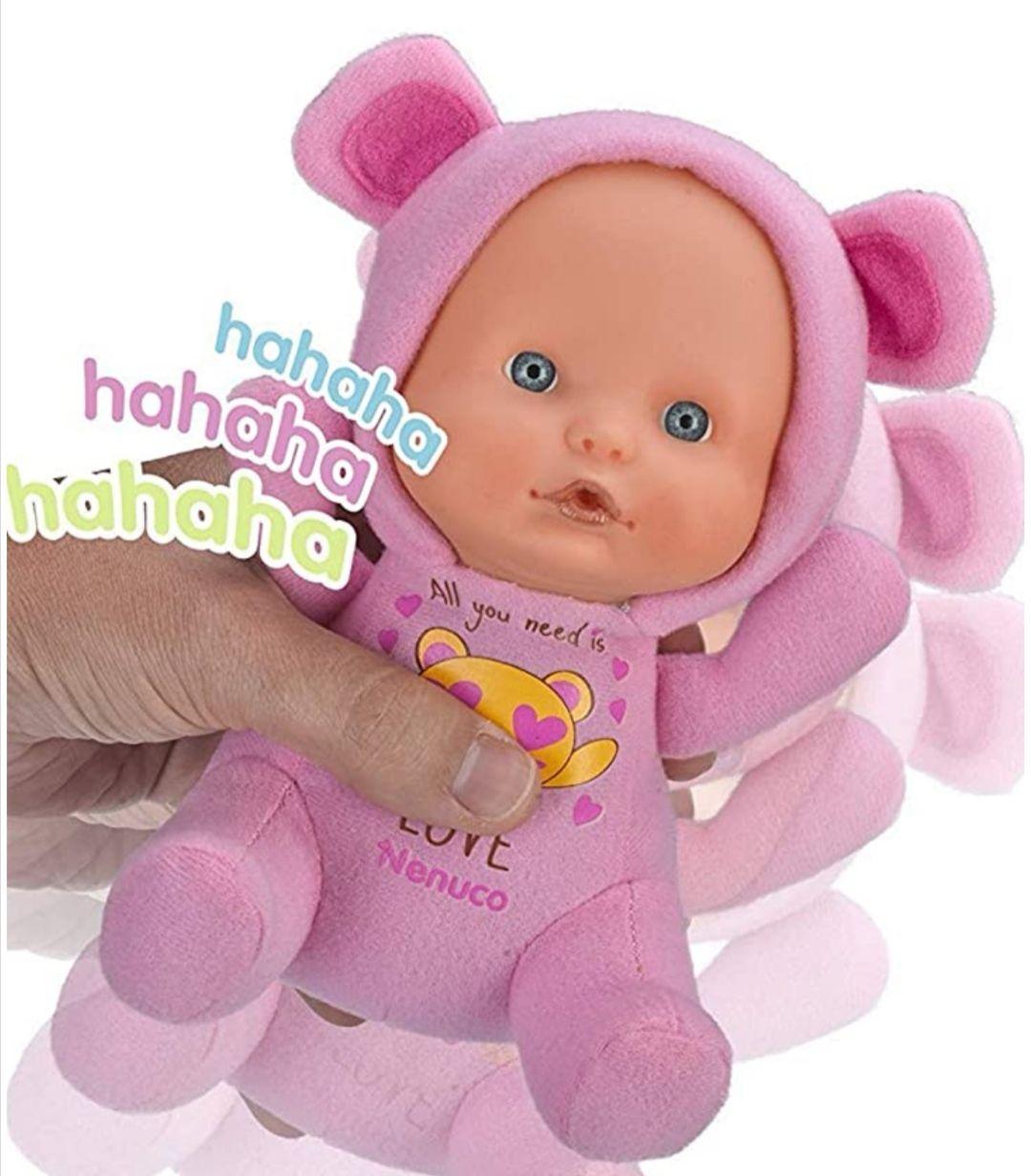 Nenuco - Muñeco blandito Happy Oso O Mono Con sonidos.(precio al tramitar)