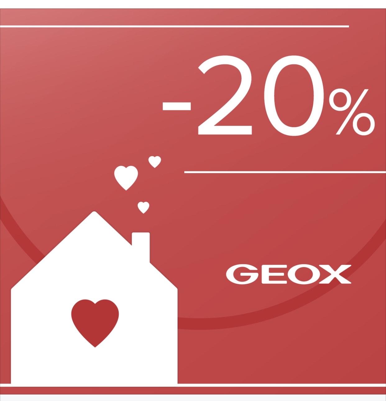 20% de descuentos en Calzados Geox