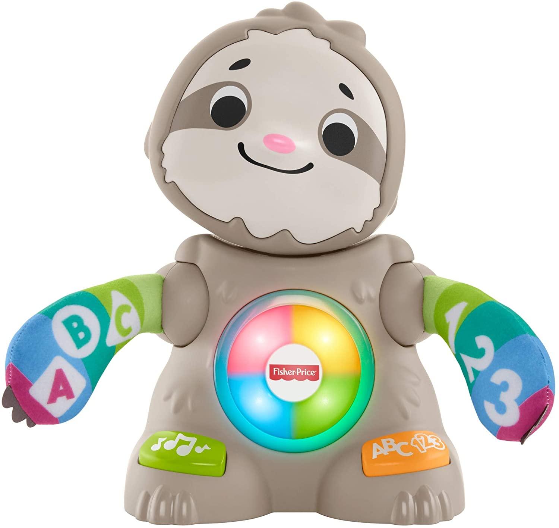 Fisher-Price Perezoso Linkimals, Juguete interactivo bebés +9 meses