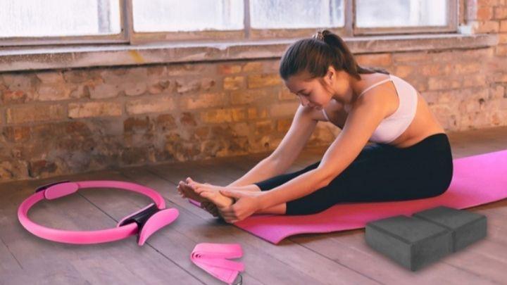 Set de accesorios de yoga Jocca