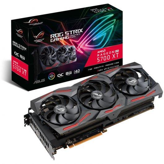 Asus Radeon RX 5700 XT ROG Strix O8G Gaming 8GB GDDR6 Reacondicionado