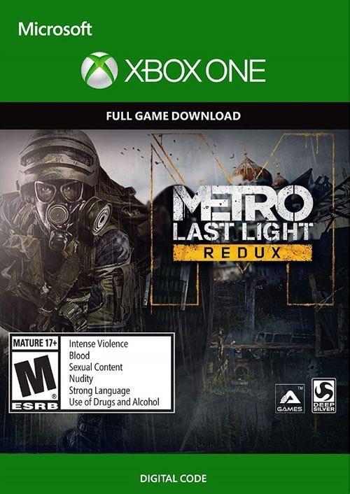 Metro Last Light Redux Xbox One (Digital)