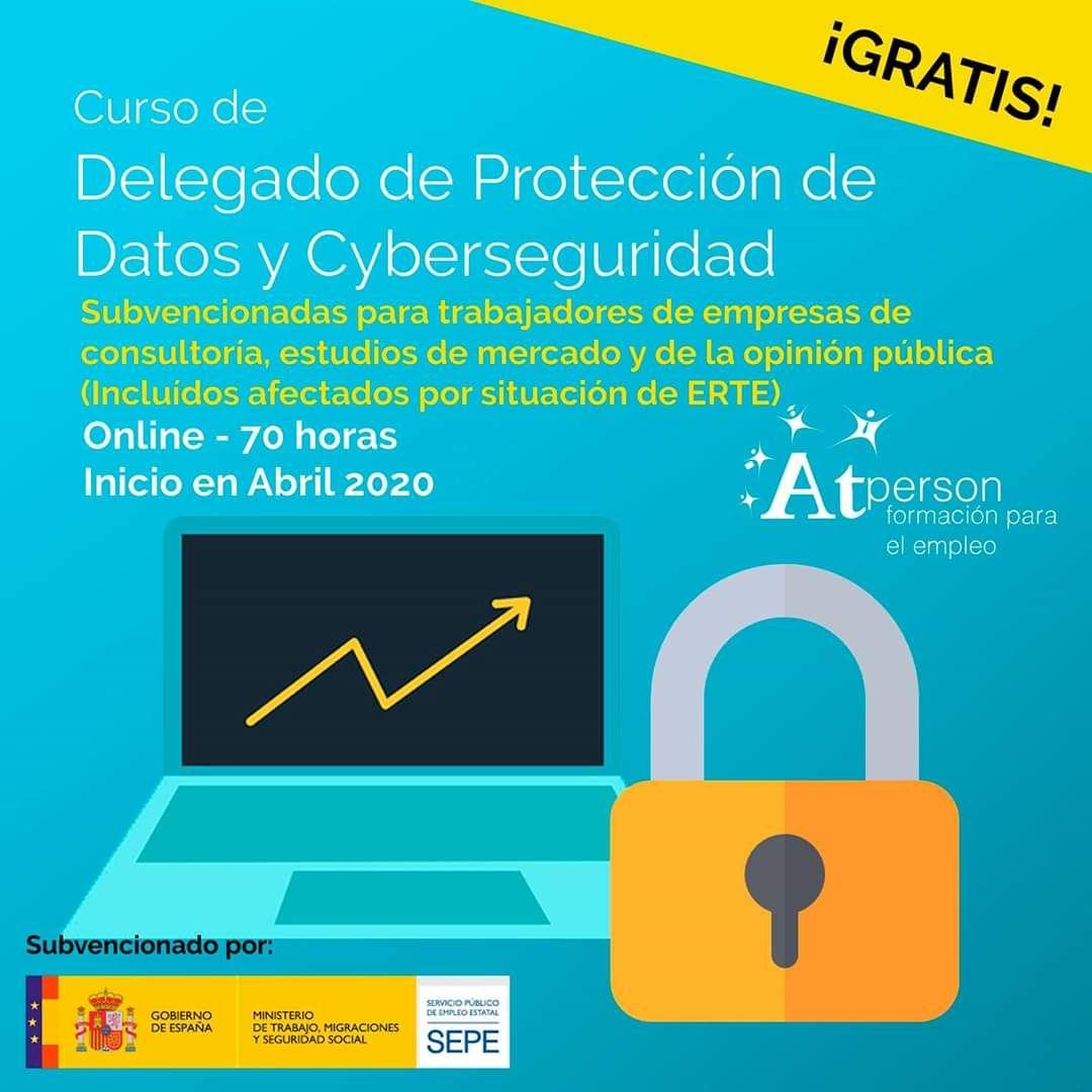 Curso de Delegado de Protección de datos y Cyberseguridad