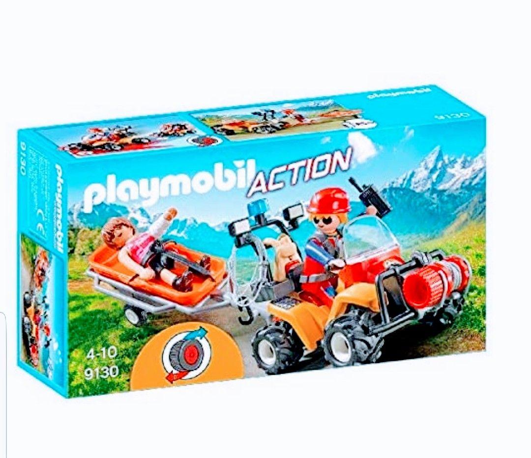 Playmobil- Quad de Rescate de Montaña.