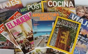 Varias revistas gratis (National Geographic, Cosmopolitan, etc)