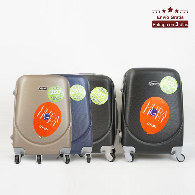 Maleta de cabina 18 y 20 pulgadas con ruedas giratorias y ligera - Desde España