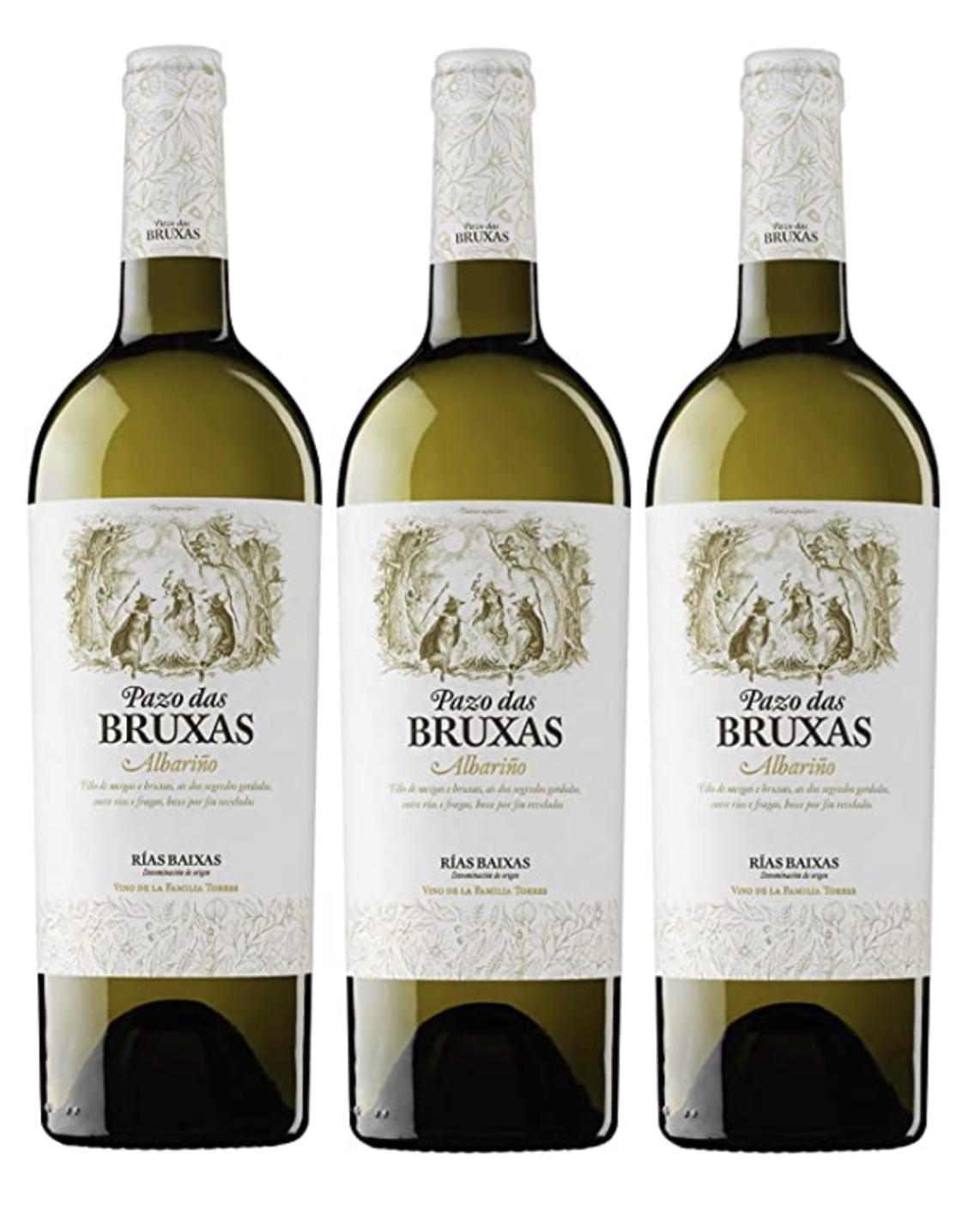3 Botellas de Pazo das Bruxas albariño