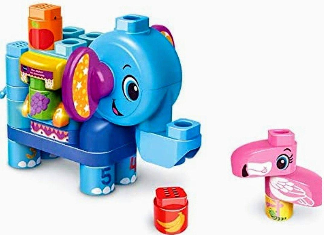 (PRECIO MÍNIMO HISTÓRICO) VTech- BlaBla Block Juego de construcción electrónico Elefante parlante.