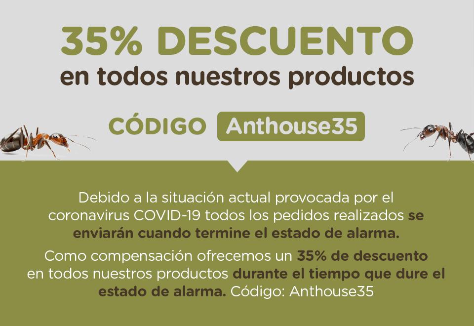 Descuento del 35% en Anthouse.es
