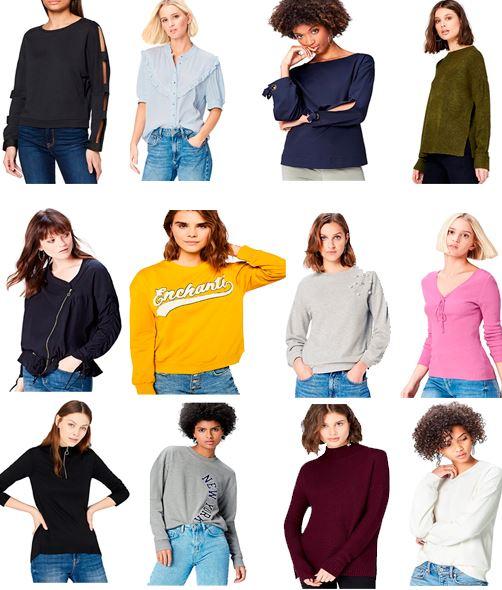 Recopilatorio ropa mujer FIND (a partir de 5,40€)