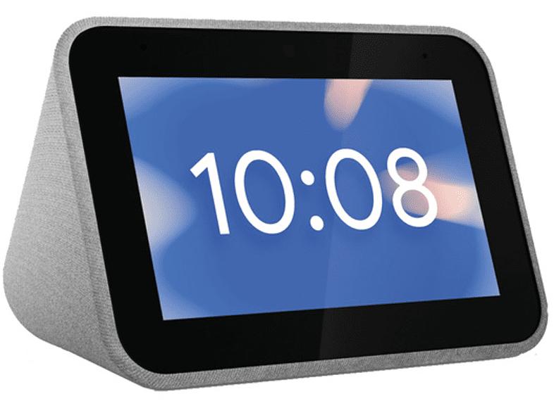 """Reloj despertador inteligente - Lenovo Smart Clock, 4"""", IPS, 1 GB RAM, Bluetooth, Flash 8 GB, Gris"""