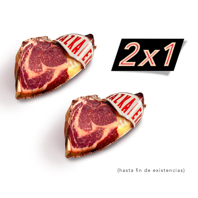 2x1 en Txluletón de Vaca de La Finca