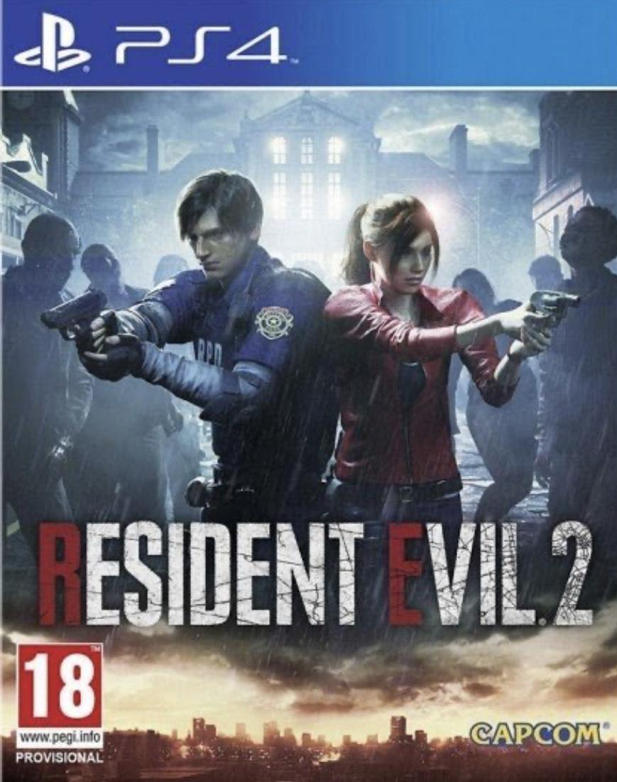 Resident Evil 2 Remake (PS4) Físico