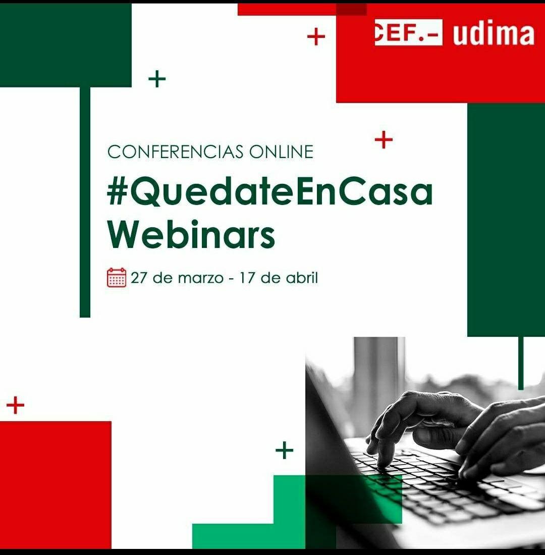 Webinars GRATIS todos los días - Udima | Universidad a Distancia de Madrid