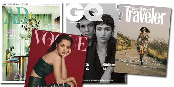 Números de revistas del mes de Abril GRATIS en formato PDF   Vanity Fair, Glamour, Vogue...