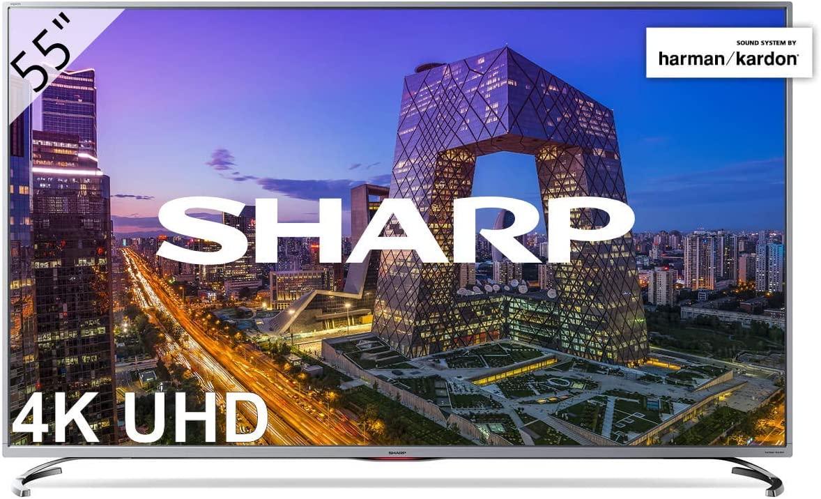"""Smart TV 4K Sharp 55"""" 4K Ultra HD LC-55UI8762ES"""