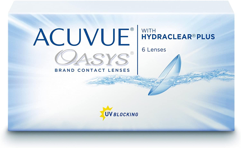 Lentes de contacto Acuvue Oasys - Pocas unidades