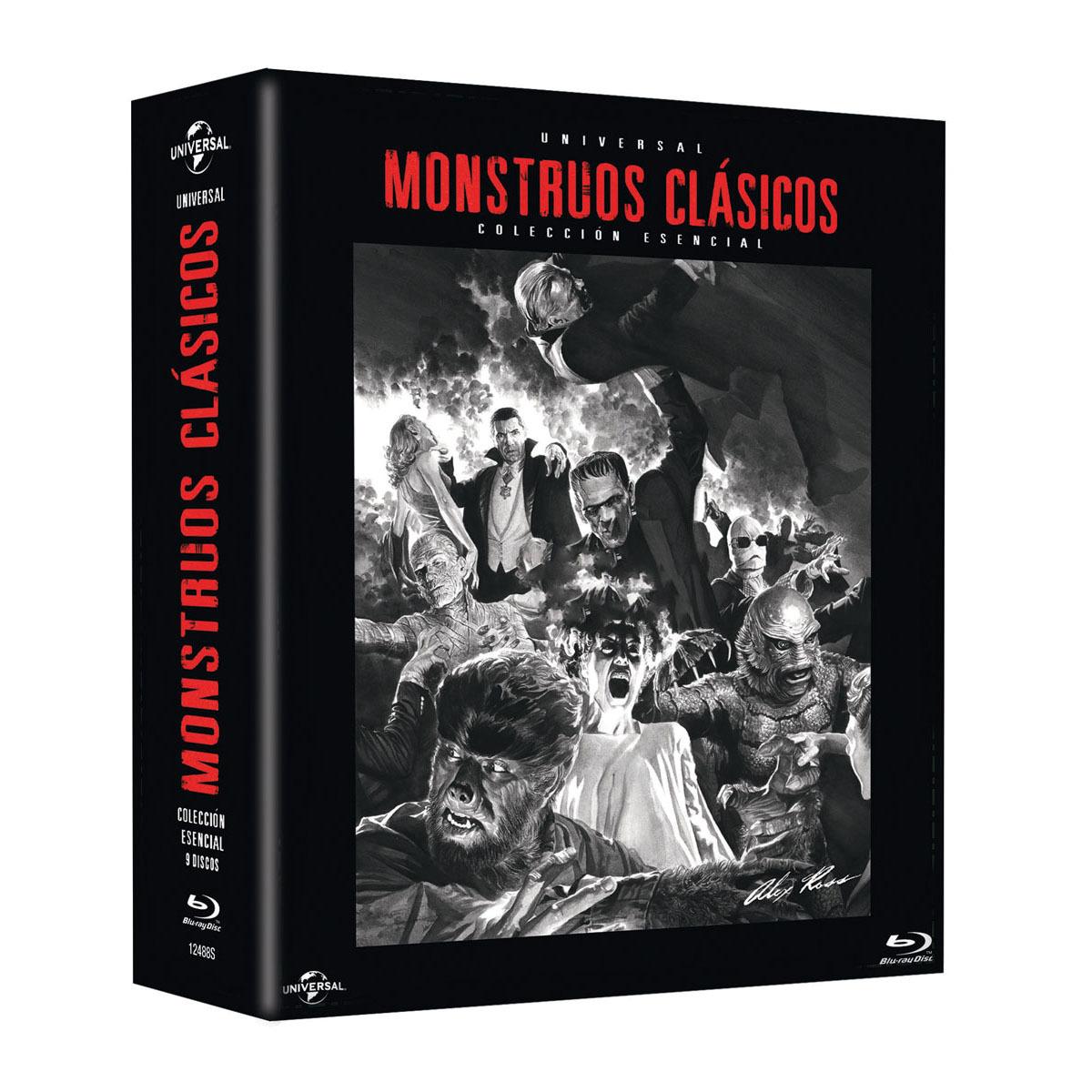 Pack Monstruos Clásicos Universal (Blu-Ray)