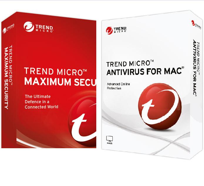 WINDOWS Y MAC: Protección Trend Micro Maximum Security (6 meses gratis)