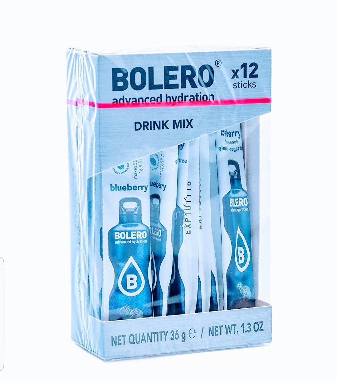 Bolero Sticks (12+3g) 12 unidades=40g. Blueberry.