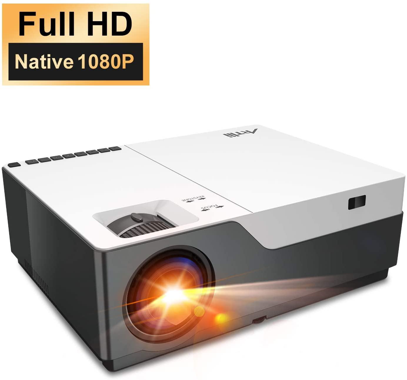 Proyector Artlii 6500 Lúmenes FHD 1080P. Oferta Flash