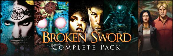 Pack completo juego PC Broken Sword