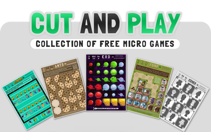 CUT AND PLAY - colección de microjuegos gratuitos