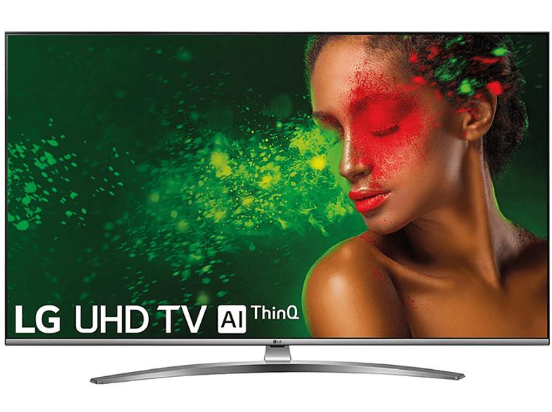 "TV LED 43"" - LG 43UM7600PLB, Panel IPS UHD 4K, Smart TV IA, Quad Core, Sonido DTS Virtual: X"