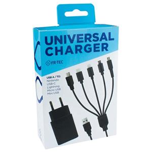 Cargador universal USB-C, Lightning, Micro USB, Mini USB, Nintendo 3ds
