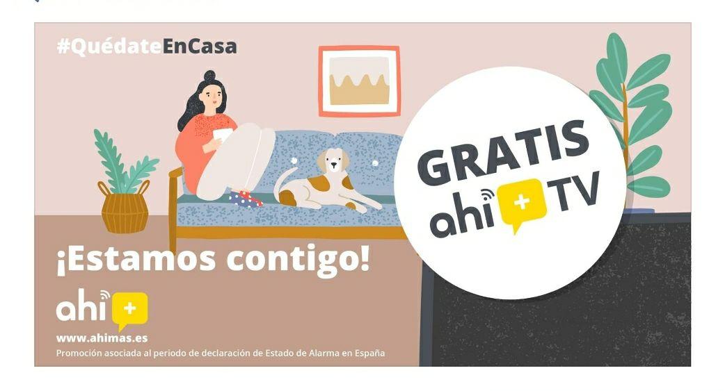 TV Ahí+ GRATIS para todos!!!
