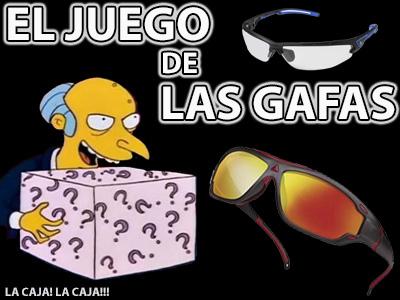 EL JUEGO DE LAS GAFAS!!! 100? 10? o 1?
