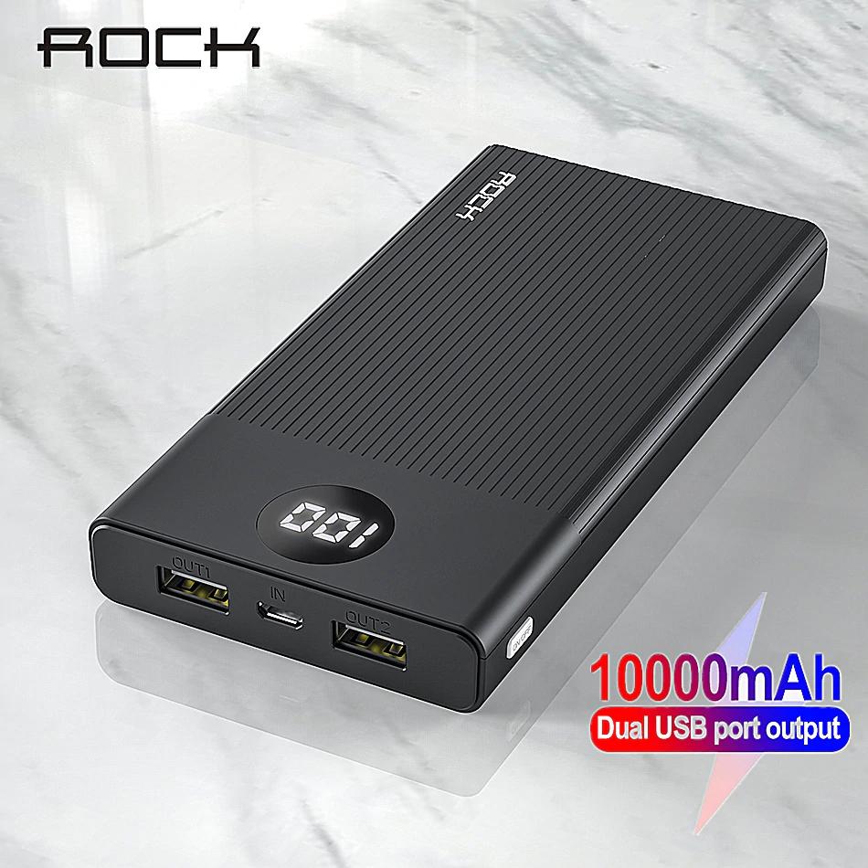 Batería Externa de 10000 mAh con pantalla LED