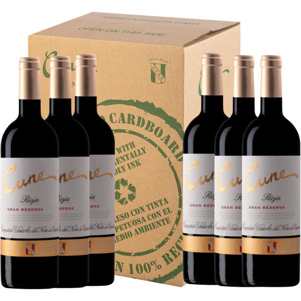 Vino tinto gran reserva DOCa Rioja caja 6 botellas 75 cl